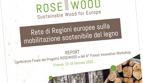 Report evento finale progetto Rosewood e 4° Forest Innovation Workshop
